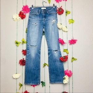 Levi's Bootcut Distressed Jeans Size 4.